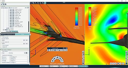 OMNIS™/Post: Aerospace Anwendung